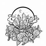 Crystal Drawing Ball Line Getdrawings sketch template