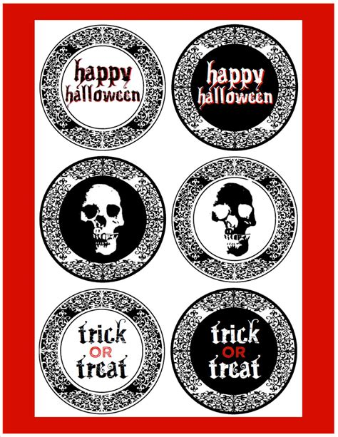 Free Creepy Halloween Printables  Catch My Party