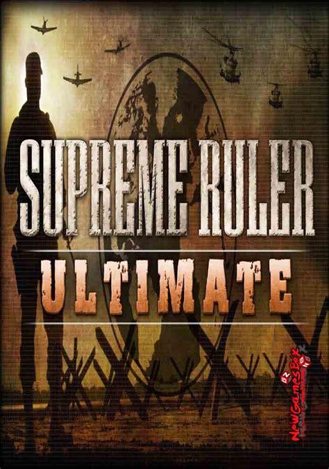 supreme ruler supreme ruler ultimate free pc setup