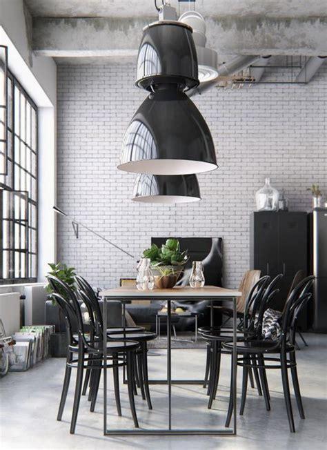 table cuisine bistrot l 39 aménagement d 39 une salle à manger style industriel en 48