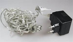 Lichterkette Mit Stecker : 5m led lichterkette warmwei mit 50 leds f r innen transparentes kabel 23 ~ Whattoseeinmadrid.com Haus und Dekorationen