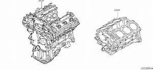 Infiniti M45 Engine Short Block  Bare