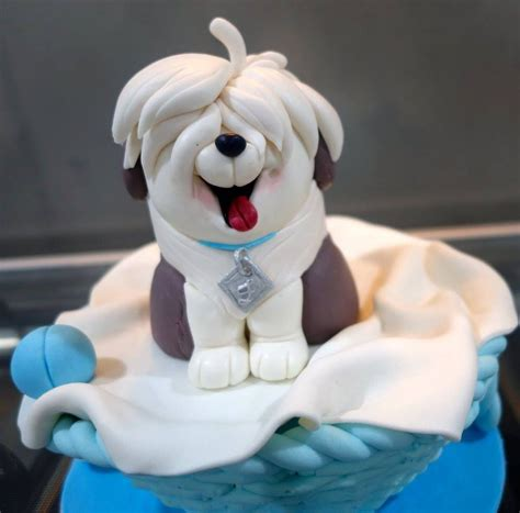 dog cake cakes cupcakes frosting