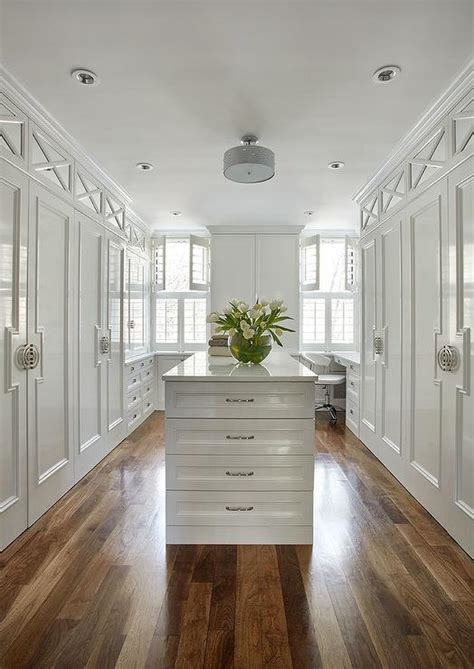 white lacquered closet doors transitional closet