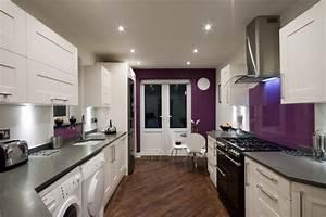 Cuisine Couleur Aubergine : aubergine farbe kombinieren und im wohnraum einsetzen ~ Premium-room.com Idées de Décoration