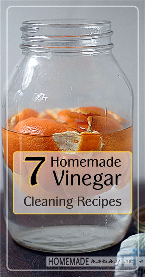 homemade vinegar cleaning recipes homemade mommy