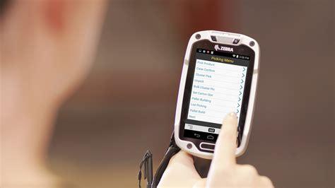zebra   device  boost warehouse worker