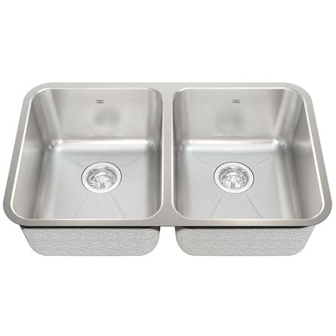 cheap double kitchen sink double bowl kitchen sinks canada discount
