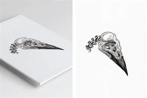 Raven Skull By Pablasso On Deviantart