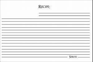 [ Fill Recipe Card Templates Template ] - Best Free Home ...