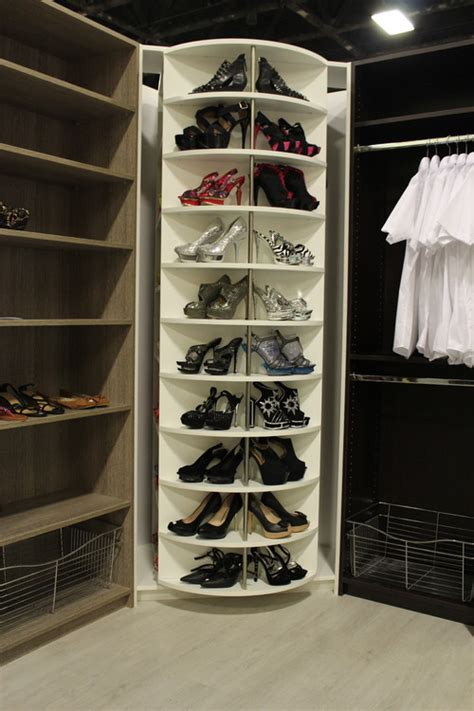 revolving shoe organizer