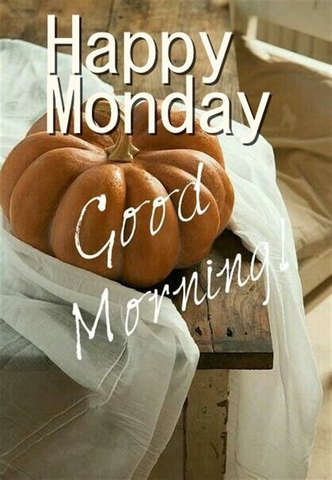 happy monday good morning pumpkins pictures