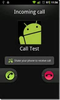 ShakeCall For Android Lets You Receive And End Calls With ...
