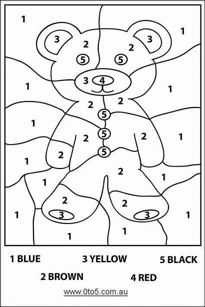Numbers Corduroy Number Bear Activities Coloring Easy