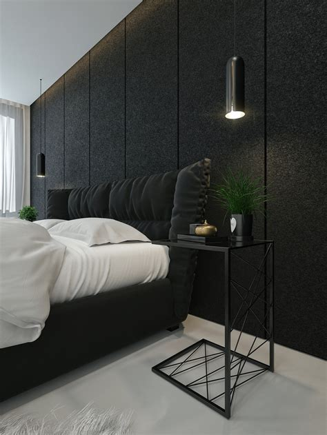 Bedroom Design With Black And White by Black And White Interior Design Ideas Modern Apartment By