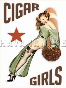 CIGAR GIRLS Art Photo Print Pinup Poster HAVANA CUBA Pin