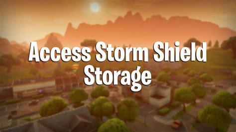 fortnite   access storm shield storage pwrdown