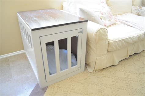 diy indoor dog crate