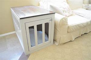 every dog owner should learn these 20 diy pet projects With small dog crate furniture