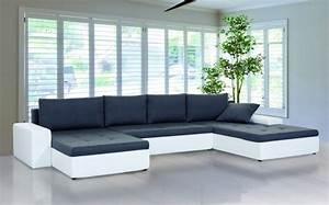 Ecksofa U Form : xxl wohnlandschaft porto u form sofa mit schlaffunktion farb und stoffauswahl ebay ~ Eleganceandgraceweddings.com Haus und Dekorationen