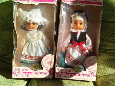 Vintage Dolls Of All Nations Collectible Dolls Old Dolls