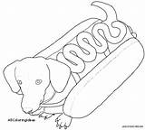 Dachshund Coloring Pages Dog Printable Weiner Weenie Chow Getcolorings Print Getdrawings Colorings sketch template