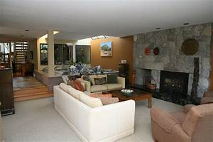 Layout Of Great Room With Fireplace And A Tv That Is Not ...