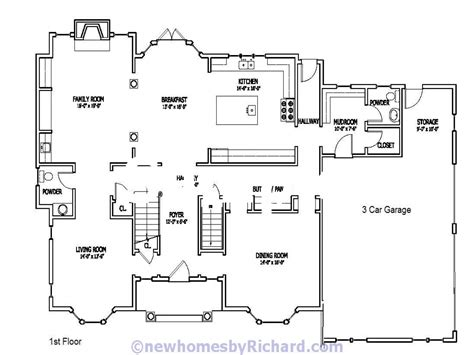 southern farmhouse floor plans house floor plans