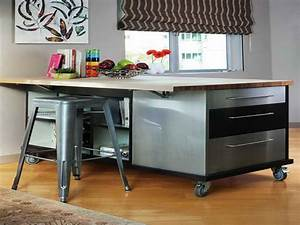 Kitchen Island On Wheels Stainless — Randy Gregory Design