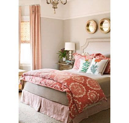 Brighter Room Beige And Peach Bedroom Jade Green Accents