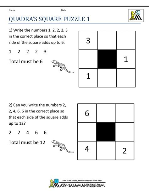 This is a great math multiplication activity! Math Puzzle 1st Grade