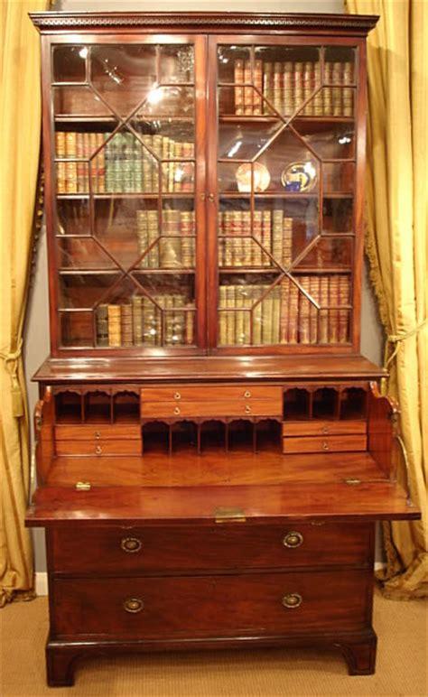 secretaire baise bureau georgian secretaire bookcase desk bureau and secretaire