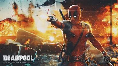 Deadpool Action Scene Film 4k