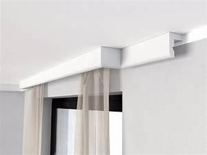 Gardinenschiene 2 Läufig Mit Blende : gardinenstange zum kleben mit blende lko12 vorhang ~ Watch28wear.com Haus und Dekorationen