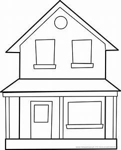 Haus Strichzeichnung Einfach : ausmalbilder h user und geb ude ~ Watch28wear.com Haus und Dekorationen