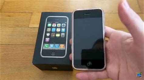 generation iphone apple iphone 1st generation unboxing review 2017