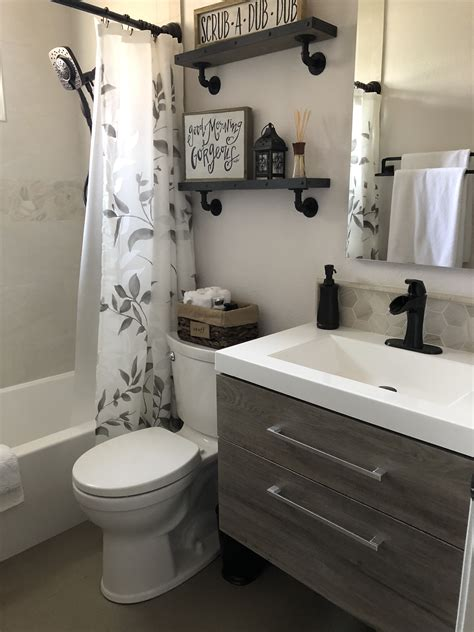 Home Decor Ideas Bathroom by Small Bathroom Remodel With Floating Vanity For The Home