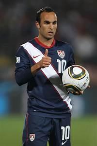 Landon Donovan in England v USA: Group C - 2010 FIFA World ...  Landon