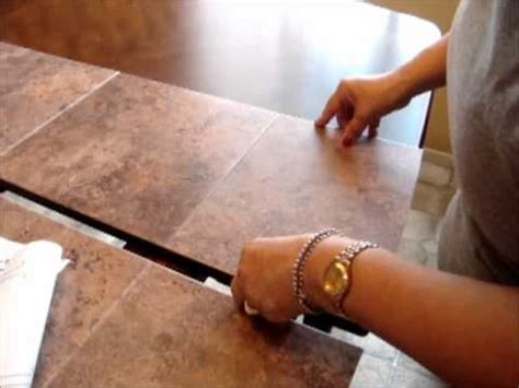 fix damaged table top   stick  tileswmv