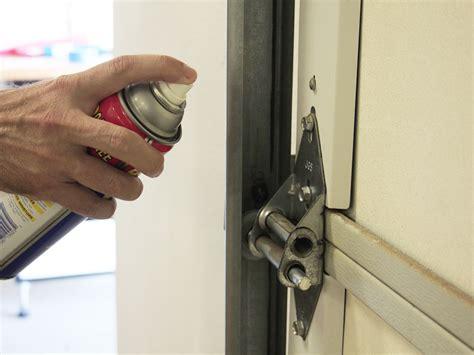 lubricating garage door lubricate garage door homezada