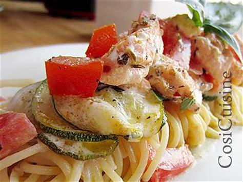 recette de p 226 tes au saumon et courgettes
