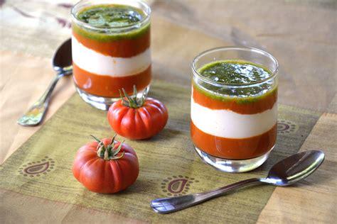 cuisiner la mozzarella la tomate mozza revisitée en verrine au fil du thym