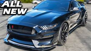 Shelby Unveils 2019 GT350 WIDE BODY! | GT500 Super Snake + New Bullitt - YouTube