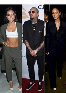 Rihanna Upset With Chris Brown For Dissing Karrueche Tran ...