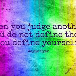 Before Judging Others Quotes. QuotesGram