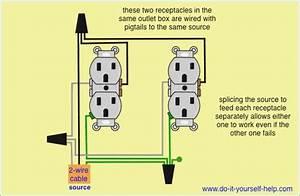 Quad Receptacle Wiring Diagram  U2013 Moesappaloosas Com
