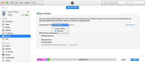 how to transfer photos from ipod to iphone 2 ways to transfer photos from computer to iphone 7 plus