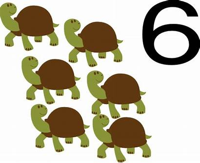 Animal Numbers Number Clipart Clip Cliparts Clker