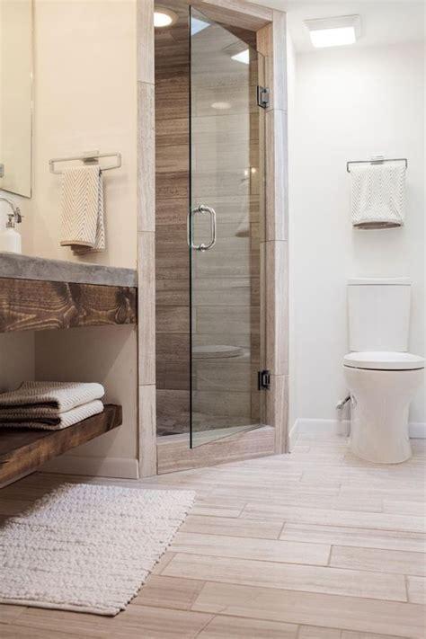 wood tile bathroom 41 cool and eye catchy bathroom shower tile ideas digsdigs
