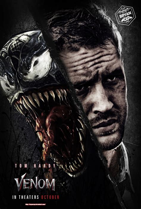 Venom Movie Poster By Bryanzap On Deviantart